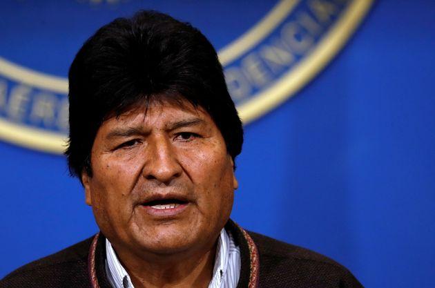 Evo Morales, président de la Bolivie,