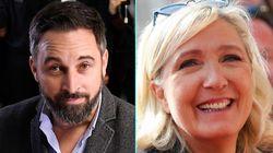 El hermanamiento de la ultraderecha en Europa, resumido en este tuit de Le Pen a