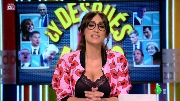 Ana Morgade da su titular de la noche electoral: