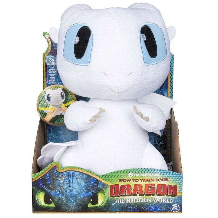 "The shy dragon Lightfury made her debut in ""How To Train Your Dragon: The Hidden World."""