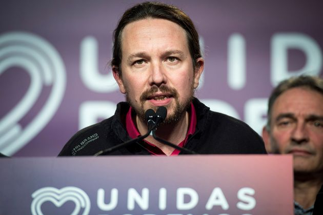 El secretario general de Unidas Podemos, Pablo