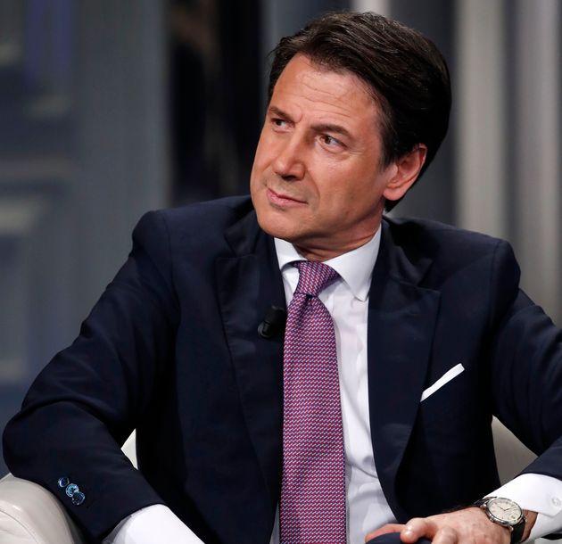Italian Prime Minister Giuseppe Conte during the TV show Porta a Porta. Rome (Italy), November 7th, 2019...