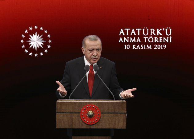 La Turquie va expulser 11 jihadistes français (Ici le président Recep Tayyip Erdogan à...