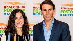 La insólita imagen de Rafa Nadal con su mujer, Mery Perelló, en
