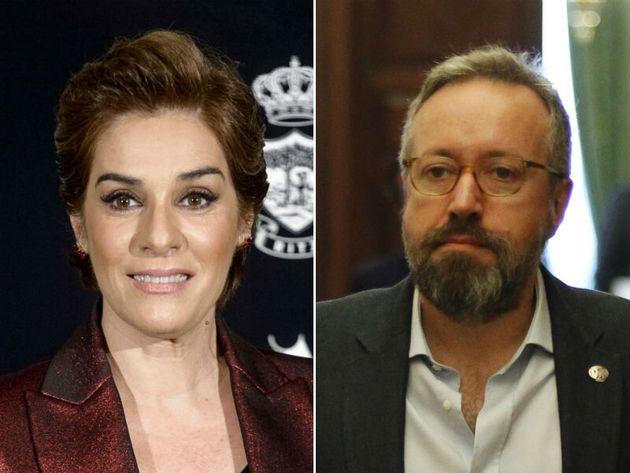 Anabel Alonso y Juan Carlos