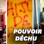 Les images du saccage de la maison du président bolivien