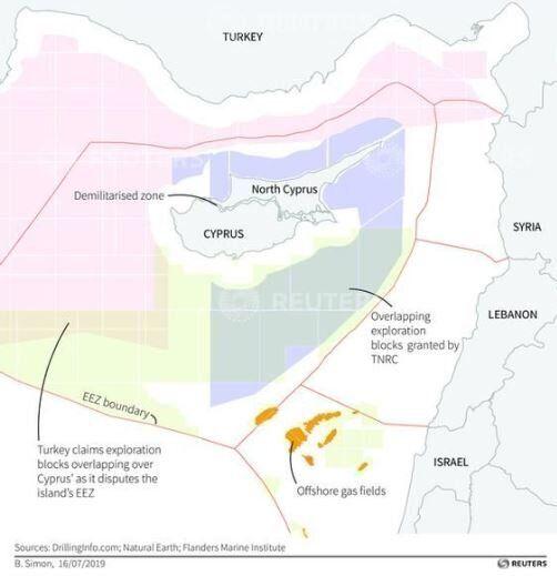 H κυπριακή ΑΟΖ - γράφημα...