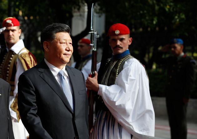 O Κινέζος πρόεδρος Σι...