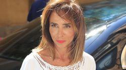 María Patiño se deshace ante un líder político: