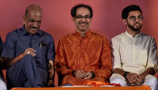 Shiv Sena Claims It Has Numbers But Congress Has Upper