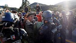 La Policía francesa avisa a los manifestantes en La Jonquera que despejen la vía o emplearán