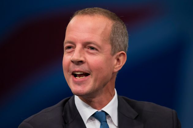Nick Boles Minister of State for Skills speaks during the Conservative Party Conference, in Manchester,...
