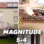 Les images du séisme de magnitude 5,4 dans le sud-est de la