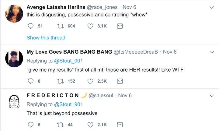 A series of tweets liked by Deyjah Harris.