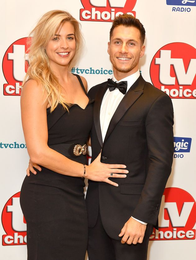 Gemma and Gorka at the TV Choice Awards last