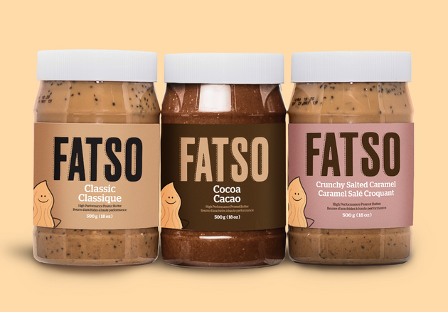 Fatso peanut butter is pictured in this handout from the