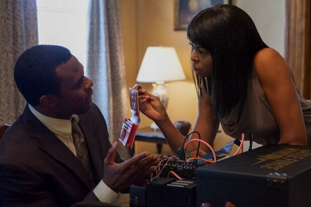 "Lyriq Bent as ""Robert"" and Taraji P. Henson as ""Melinda"" in ACRIMONY."