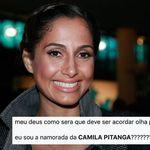 As pessoas não estão sabendo lidar com o namoro de Camila