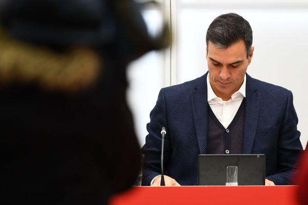 Pedro Sánchez reconoce al PSOE que se ha