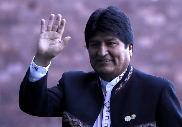 Evo Morales, ici à Mexico en décembre 2018 pour une inauguration, a demandé l'asile...