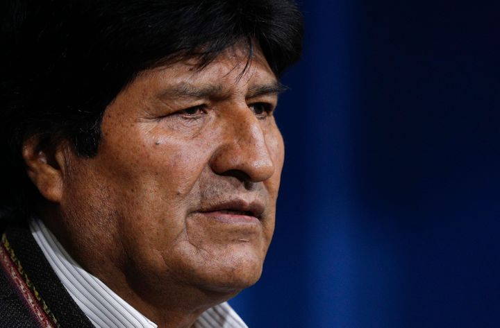 Evo Morales called for new elections in Bolivia following the release of a preliminary report by the Organization of American