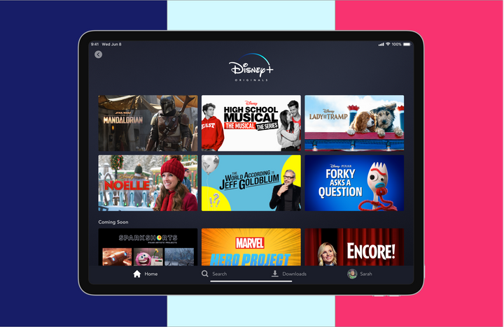 You can sign up for a Disney+ bundle that includes Disney+, ESPN+ and Hulu for just $12.99 a month.