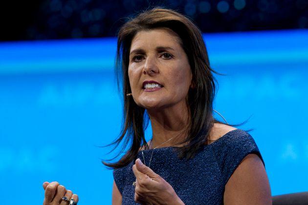 L'ancienne ambassadrice des États-Unis à l'ONU Nikki Haley (photo