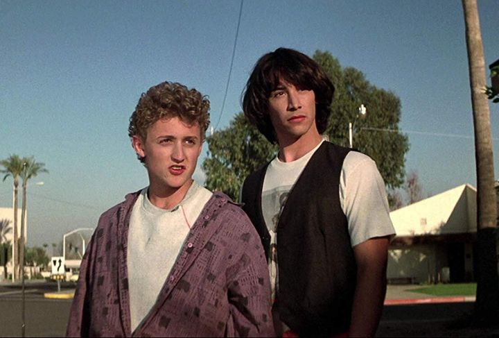 """Alex Winter and Keanu Reeves continue to be excellent, long after """"Bill And Ted's Excellent Adventure."""""""