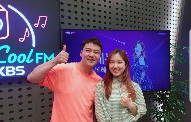 방송인 전현무, KBS 이혜성