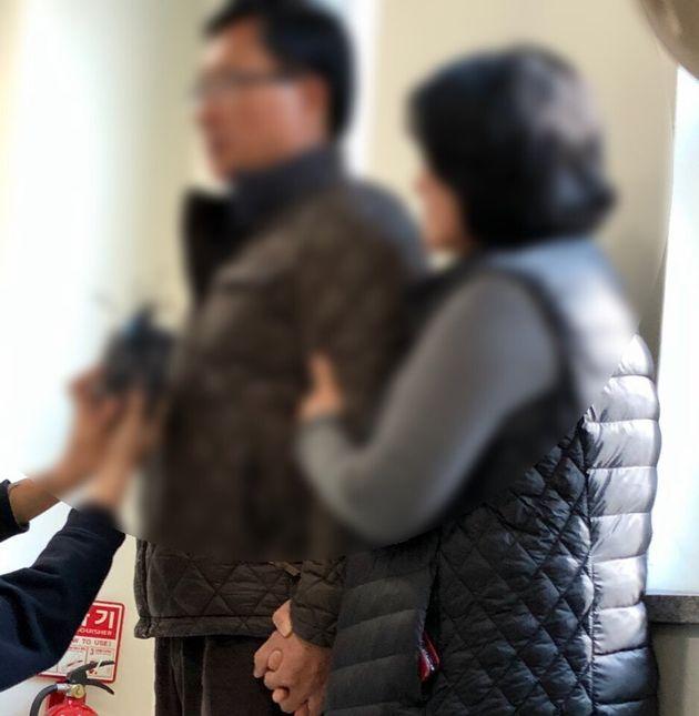 고(故) 박단비(29) 대원의 어머니와