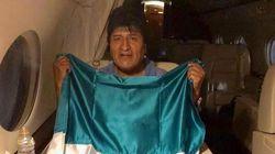 La última frase de Evo Morales antes de volar a México: