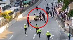 실탄 발포, 인신 방화 : 홍콩에서 11월 11일 하루에 벌어진