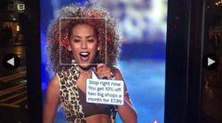 Mel B des Spice Girls obtient le retrait d'une pub qui utilisait une photo