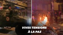 En Bolivie, l'armée a investi les rues contre les manifestants