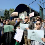 Un métier sous pressions: les journalistes algériens s'insurgent contre la