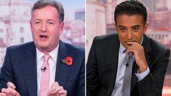 Piers Morgan Tells Adil Ray He 'Won't Be Filling In' On GMB Again Following Twitter