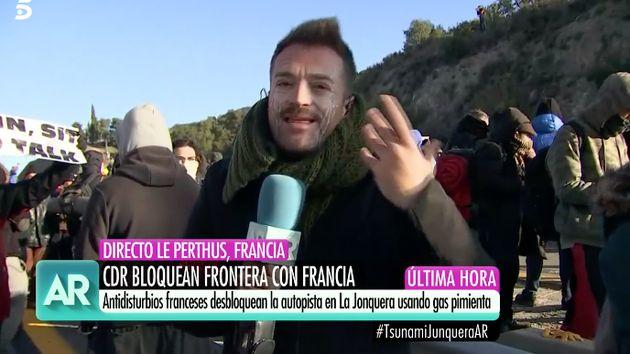 El reportero de 'El programa de Ana Rosa' Miquel