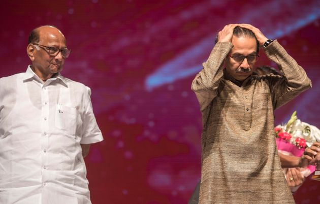President of NCP Sharad Pawar and Shiv Sena Chief Uddhav