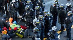 Reabierta la circulación entre España y Francia y despejada de manifestantes la