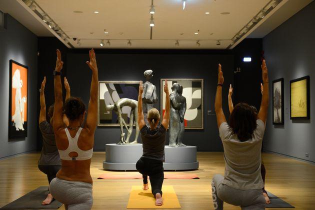 Yoga στο Μουσείο