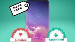 Le Samsung Galaxy S10 avec 512 Go en promo, on valide ou