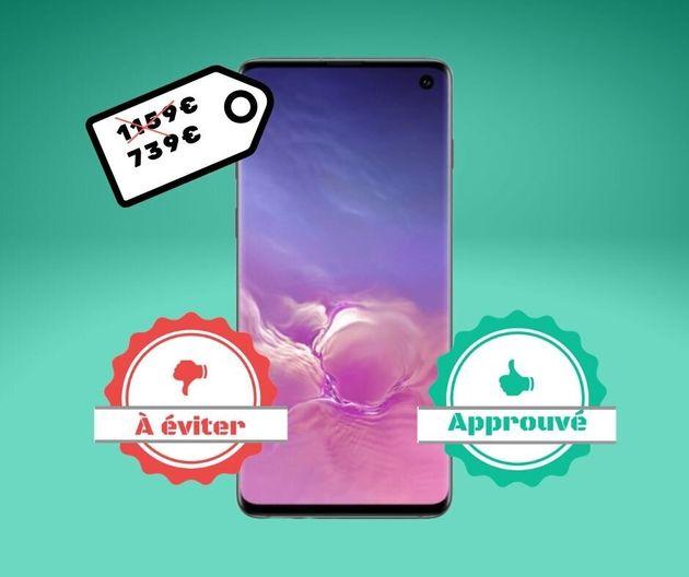 Le Samsung Galaxy S10 en promo sur Amazon est-il un bon