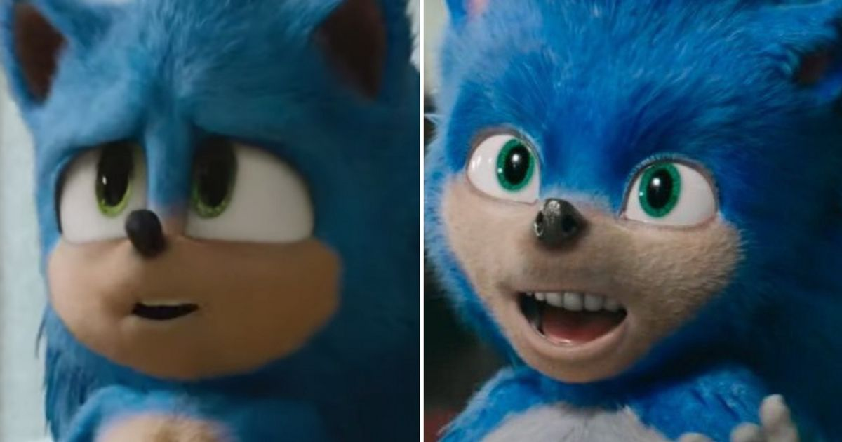 Sonic The Hedgehog New Trailer Shows Character Looking Much More Like His Usual Self Huffpost Uk