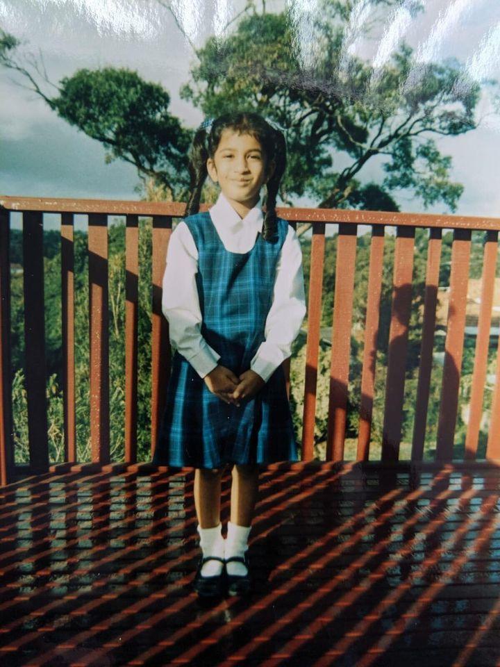 Shyamla went to school in Sydney's Sutherland Shire area.