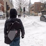 Tempête de neige: des conditionsroutières parfois