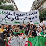 Marche des étudiants un 38e mardi contre