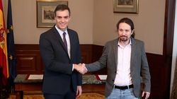 En Espagne, Pedro Sanchez va s'allier à Podemos pour