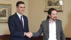 EN DIRECTO: Sánchez e Iglesias comparecen juntos en el