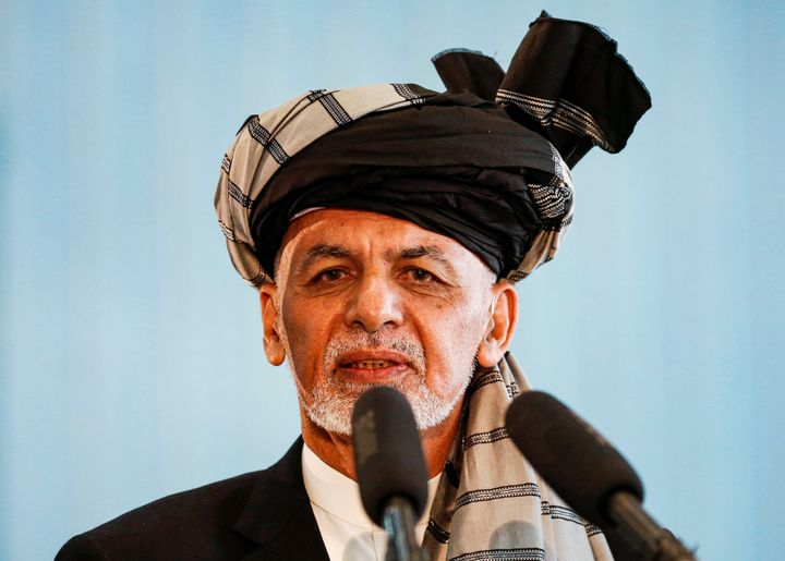 Afghan President Ashraf Ghani, seen prior to his election in September,announced the prisoner swap on Tuesday.