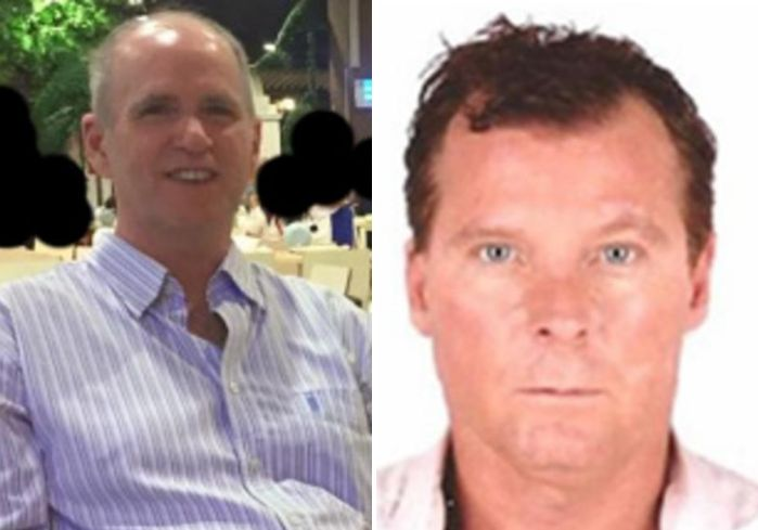 From left: Kevin King and Tim Weeks were abducted in 2016 outside the American University in Kabul where they both worked as